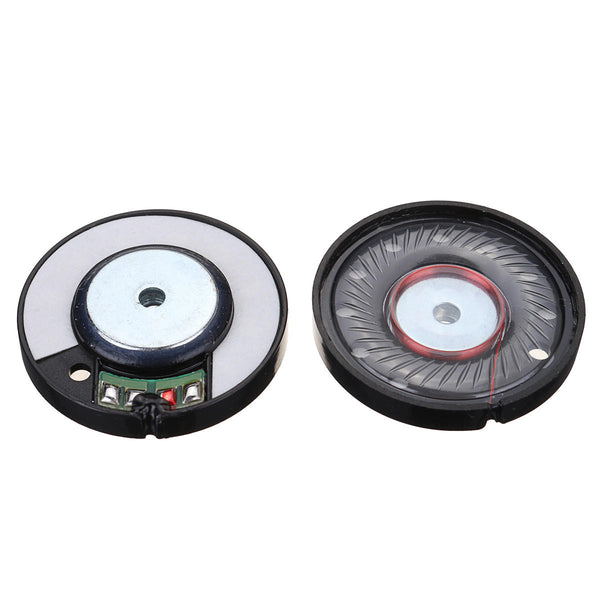 2pcs 30MW 5x38mm Replacement Speaker Driver For Headphone Earphone