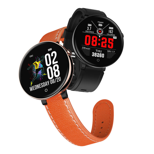 DT NO.1 DT18 2.5D 1.4 Inch Color Screen Wristband Health Fitness Tracker with Free Watch Band IP67 Smart Watch