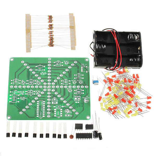 EQKIT DIY LED Lamp Kit LED Flash Set Electronic Production Kit