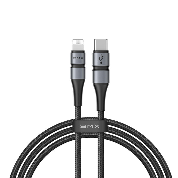 Baseus BMX Type-C to Lightning for Fast Charging Phone PD 18W DoubLe-deck MFi certified Data Cable for iPhone 11 Pro XR X