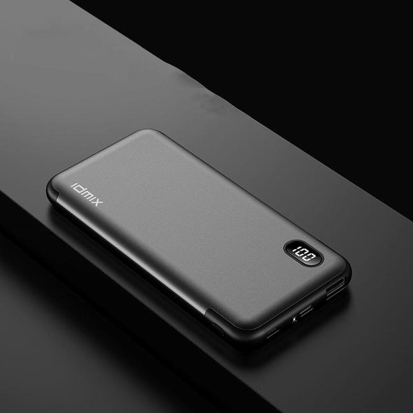 Bakeey 18W PD3.0 10000mAh Dual USB LCD Display Ultra Thin Fast Charging Power Bank For iPhone 8Plus XS 11Pro Huawei Mate 30 5G