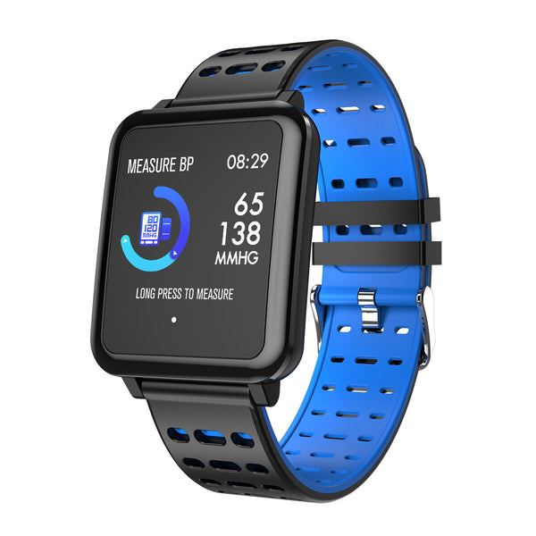 Bakeey T2 Brightness Weather Music HR Blood Pressure Oxygen Call Messages Remind Smart Watch