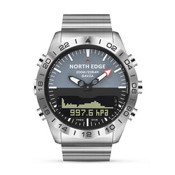 NORTH EDGE GAVIA2 200M Waterproof Altimeter Barometer Compass Thermometer Hiking Outdoor Sport Digital Watch
