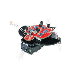 XIAO R DIY Fireworm Glowworm STEAM Phototatic RC Robot Educational Kit