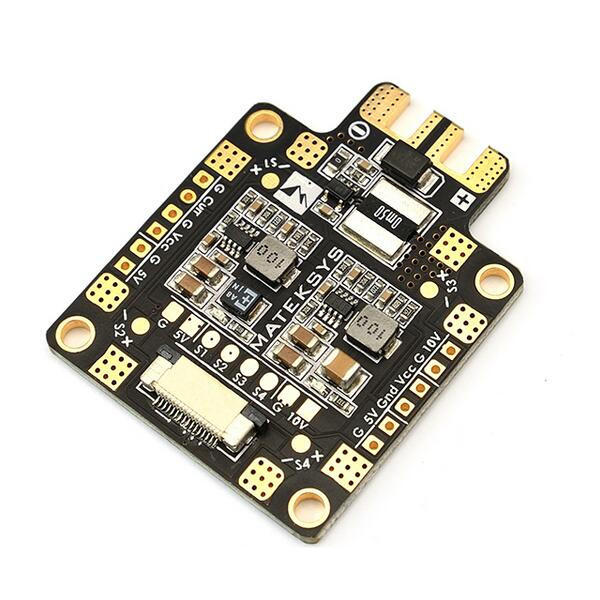 Matek FCHUB-6S Hub Power Distribution Board 5V & 10V BEC Built-in 184A Current Sensor for RC Drone FPV Racing