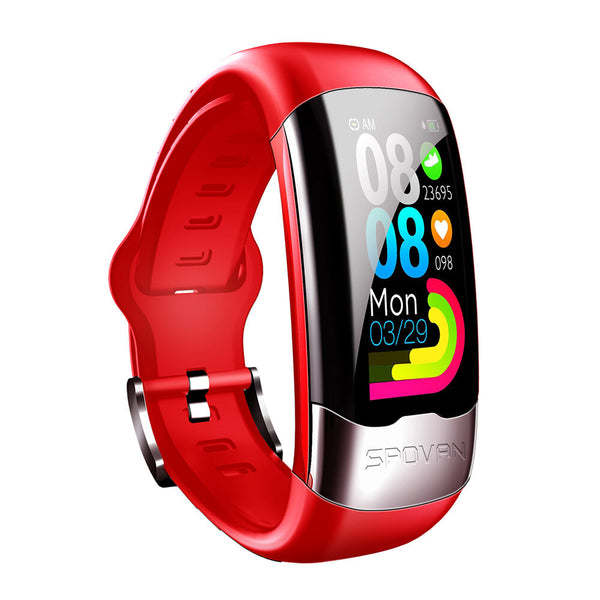 Bakeey H02 HRV ECG+PPG Monitor Heart Rate Blood Pressure O2 Brightness Control Sport Fitness Smart Watch