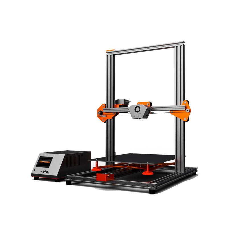 HOMERS/TEVO Tornado DIY 3D Printer Kit 300*300*400mm Large Printing Size 1.75mm 0.4mm Nozzle Support Off-line Print