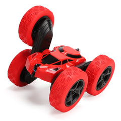 828A 1/24 2.4G 4CH RC Car Stunt Drift Deformation Tracked Rock Crawler 360 Degree Flip Kids Vehicles Indoor Toys