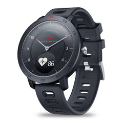 [Weather Temperature] Zeblaze HYBRID Heart Rate Blood Pressure Monitor Goal Reminders Dual Modes Mechanical Hands Smart Watch