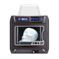 QIDI X-MAX Industrial Grade Pre Assembled 3D Printer Kit 300x250x300mm Large Printing Area with Two Extruder / 5Inch Touch Screen / Wifi Connection