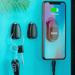 HOCO Multifunctional Magnetic Car Phone Holder Wall Phone Holder Cable Key Holder