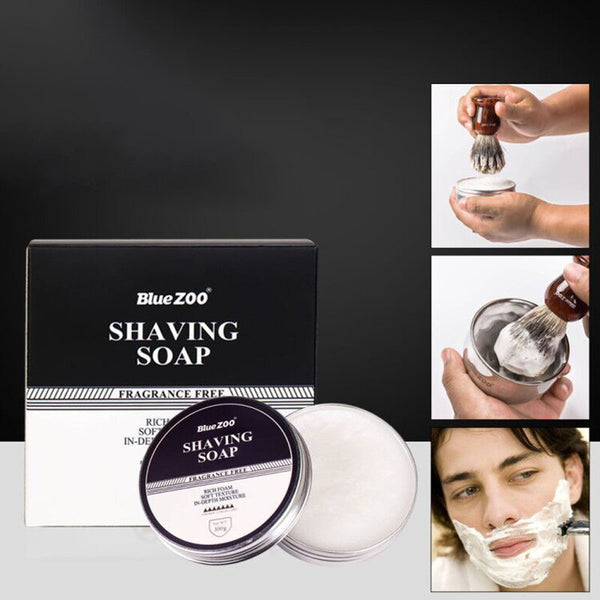 Men's Facial Care Shaving Beard Shaving Foam Soap Sandalwood Fragrance Mint Tasteless