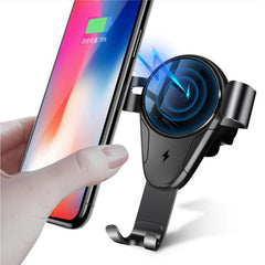 Bakeey 5W 10W Qi Auto Fast Charging Wireless Car Charger Holder For iPhone X XR XS Max Xiaomi Mi8 Mi9 HUAWEI P20