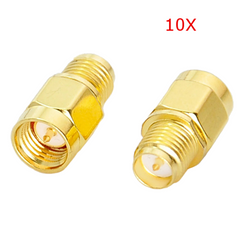 10X SMA Male To RP-SMA Female RF Coaxial Adapter Connector