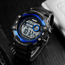 SKMEI 1325 Electronic Chronograph Digital Watch Calendar Alarm Men Sport Watches