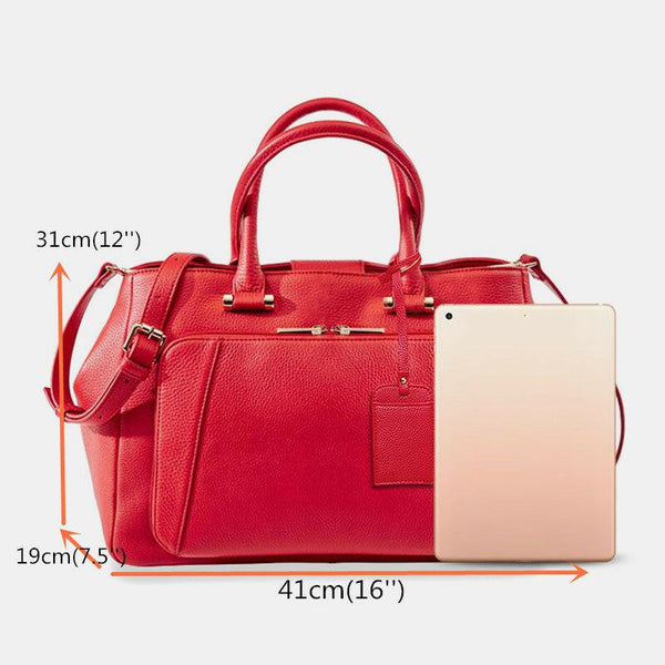 Women Design Solid Handbag Multifunction Crossbody Bag Fashion Bag - EY Shopping
