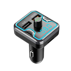 Bakeey QC3.0 Type C PD LED Display FM Transmitter Hands-free MP3 Player Fast Charging USB Car Charger For iPhone 8 Plus XS 11 Pro Huawei P30 Pro Mate 30 Xiaomi Mi9 9Pro S10+ Note10