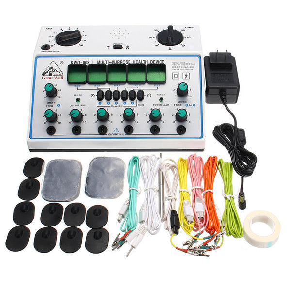 KWD808-I Electric Acupuncture Stimulator with 6 Channels Output Massager Care