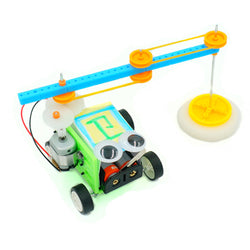 DIY Floor Mopping Robot Electric Sweeping Robot Toy Assembled Toy For Children