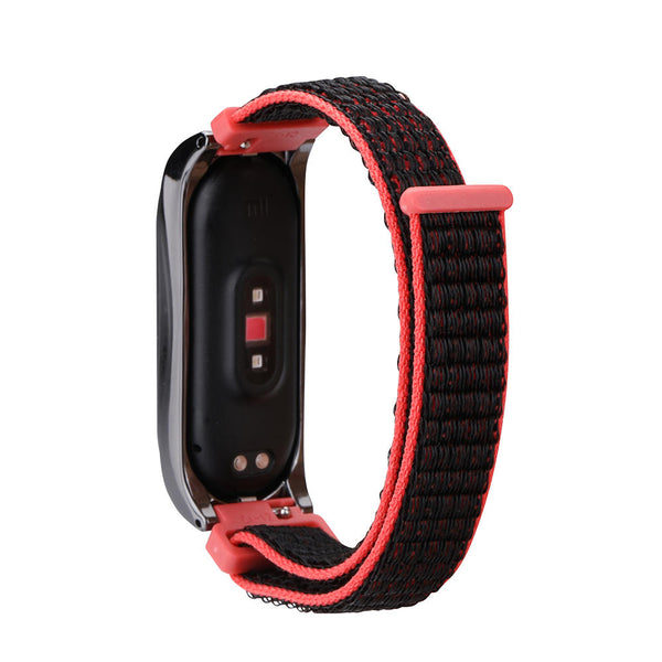 Colorful Nylon Watch Band Watch Strap Replacement for Xiaomi Miband 4