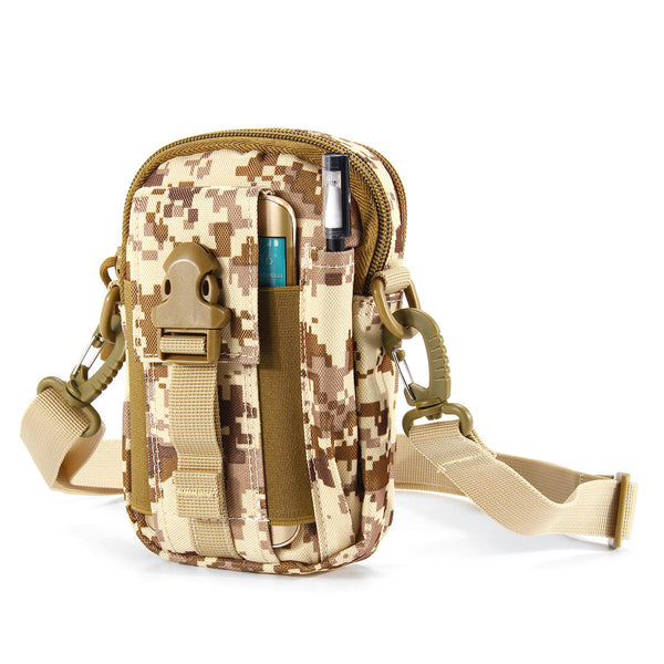 Outdoor Sports Tactical Waist Bag Crossbody Bag Shoulder Bag Phone Bag