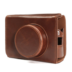 Camera Leather Bag Cover Case Bottom Opening for Fujifilm x100 x100s x100m x100t