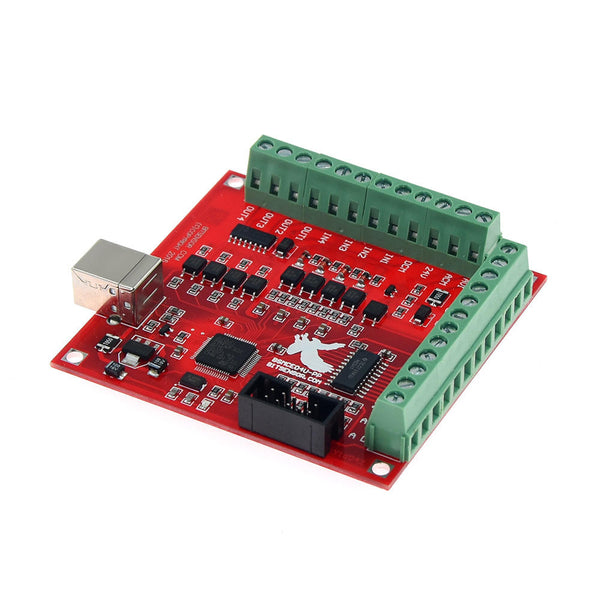 TWO TREES Super USB interface MACH3 100Khz  Board 4 Axis Interface Driver Motion Controller 3D Printer CNC Board