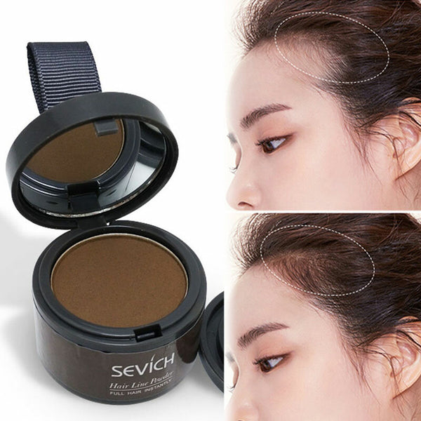 Sevich 4g Light Blonde Color Hair Fluffy Powder Makeup Concealer Root Cover Up Coverage Natural Instant Hair Shadow Powder