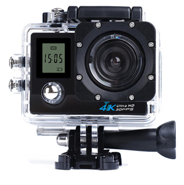 4K WiFi Sports Camera With Display 1080P 2.0 LCD HD 30m Waterproof DV Video Sport Extreme Go Pro Mini Recorder