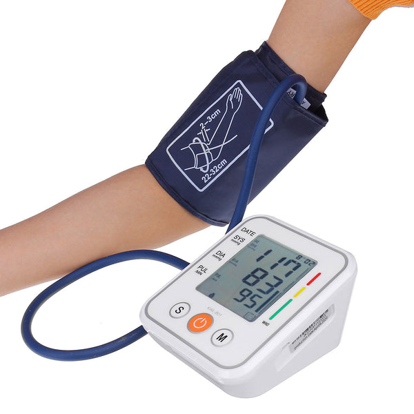 Blood Pressure Meter Household Arm Monitor Blood Pressure Instrument Electronic Sphygmomanometer