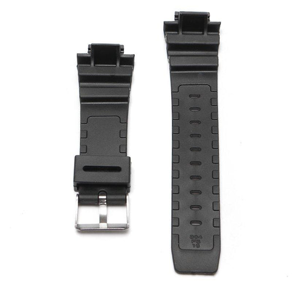 Replacement 25mm Black Silicone Rubber Watch Strap Band + Tool For CASIO G Shock
