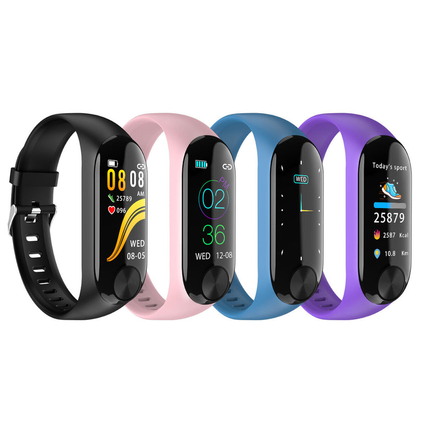 XANES Y10 0.96'' IPS Color Screen IP67 Waterproof Smart Watch Heart Rate Monitor Message Push Sports Fitness Sports Bracelet