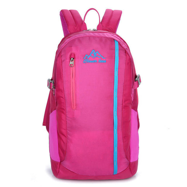 Men Women Large Capacity Sports Backpack Casual Storage Bag Outdoor Travel Bag