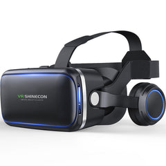 3D VR Headset VR Bass Headphone Virtual Reality Artifact Glasses for Smartphones