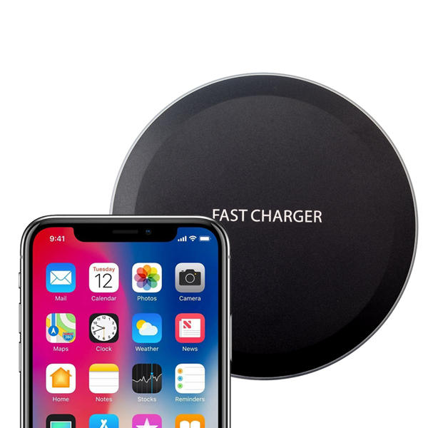 Bakeey 10W Qi Super Slim Wireless Charger Charging Pad With LED Indicator For iPhone X Xiaomi Mix 2S