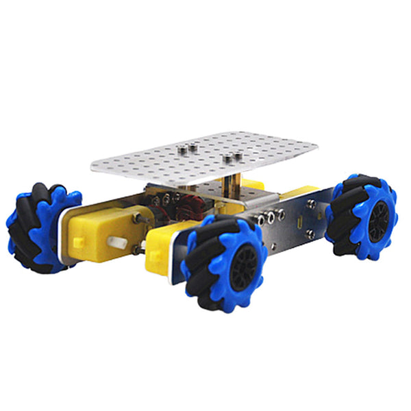 D-41 DIY Smart RC Robot Car Chassis Base With Omni Wheels TT Motor