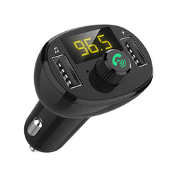 Bakeey 3.4A Dual USB Car Chargerbluetooth FM Transmitter MP3 Player Fast Charging For iPhone XS 11Pro Xiaomi Mi10 Redmi Note 9S