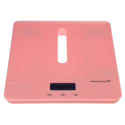100KG Toddler Scale Digital Pet Scale LCD Display USB Rechargeable With Comfortable Curving Platform