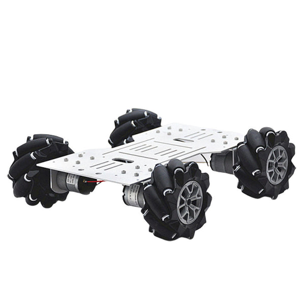 D-34 4WD DIY Smart RC Robot Car Chassis Base With Omni Wheels