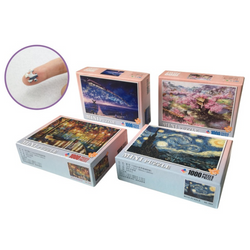 1000 Pieces Of Puzzle Decompression Scenery Series Jigsaw Puzzle Toy  Indoor Toys