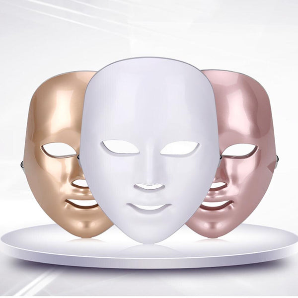Beauty  Mask Machine Seven Color Light LED Photon Mask Equipment Colorful Facial Care