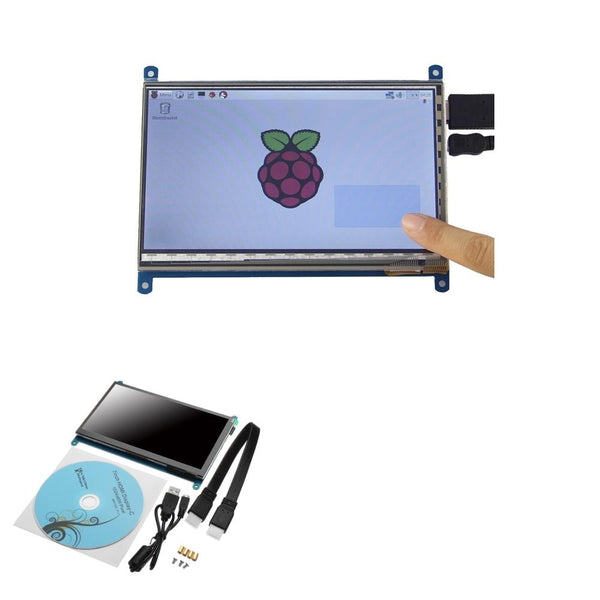 Geekcreit 7 Inch 1024 x 600 HD Capacitive IPS LCD Display Support Raspberry pi / Banana Pi