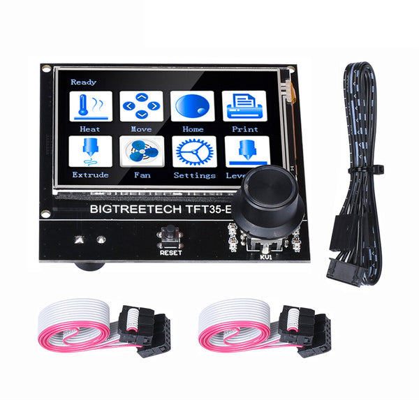 BIGTREETECH TFT35 E3 V3.0 Touch Screen Two Working Modes 12864LCD/Touch Screen Mode Ultra-clear 3D Printer Display