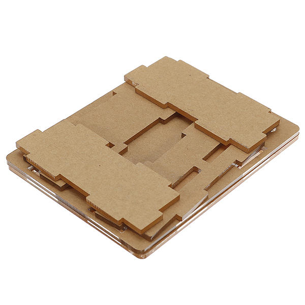 Transparent Acrylic Case Protective Housing For 4 Channel Relay Module