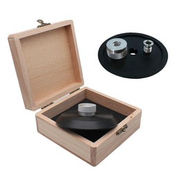 Turntable Weight Disc Rubber Record  Rotary Stabilizer Clamp Vibration Balanced for LP Turntable