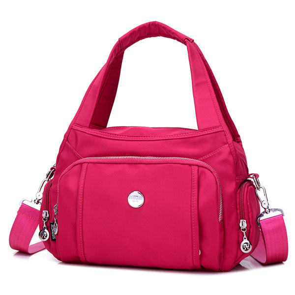 Women Nylon Waterproof Casual Crossbody Bag Handbag