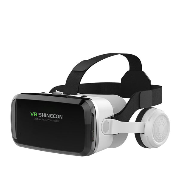 Shinecon 6.0 Virtual Reality Smartphone 3D Glasses Stereo VR Headset Helmet For IOS Android