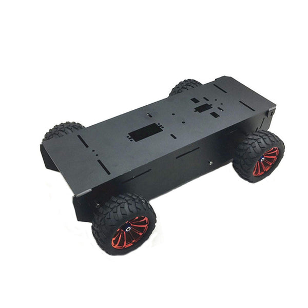 DIY A-11 4WD Aluminous Smart Car Chassis RC Robot Car Parts With Motor For  Raspberry Pi