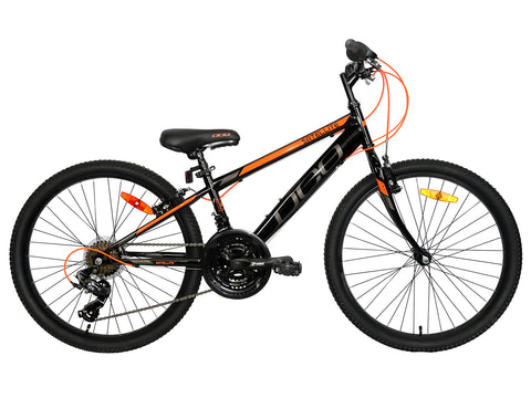 DCO SATELLITE 24 BOY (24'', Black/Orange)