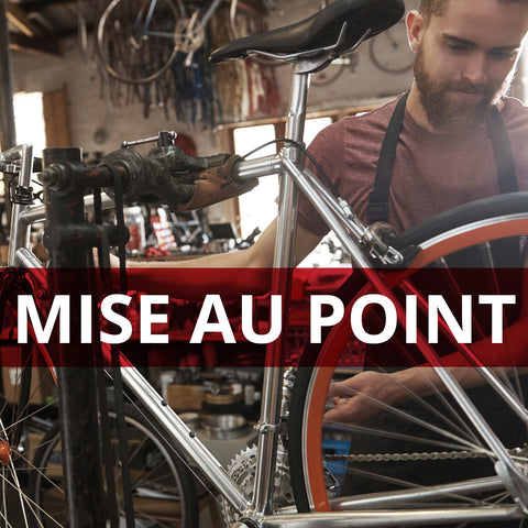 MISE AU POINT AVANCÉE